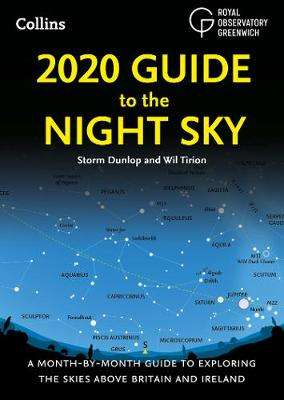 Cover of 2020 Guide to the Night Sky - Storm Dunlop - 9780008257712