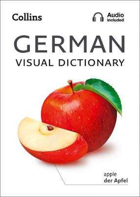 Cover of Collins German Visual Dictionary - Collins Dictionaries - 9780008290337
