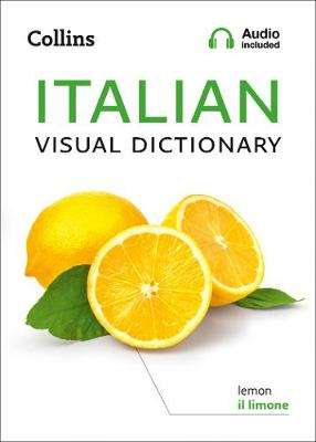 Cover of Collins Italian Visual Dictionary - Collins Dictionaries - 9780008290344