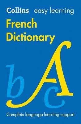 Cover of Easy Learning French Dictionary 8th edition - Collins Dictionaries - 9780008300258