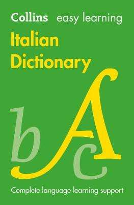 Cover of Easy Learning Italian Dictionary 5th edition - Collins Dictionaries - 9780008300272