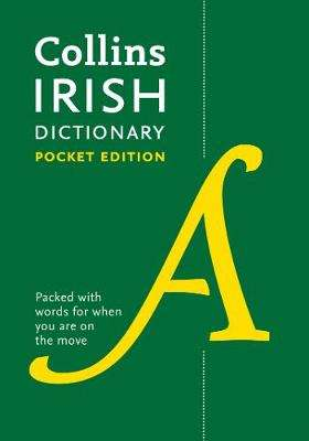 Cover of Collins Irish Pocket Dictionary 5th edition - Collins Dictionaries - 9780008320003