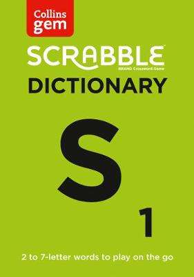 Cover of Collins Scrabble Dictionary Gem Edition - Collins Dictionaries - 9780008320188