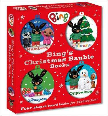 Cover of Bing's Christmas Bauble Books (Bing) - 9780008326111