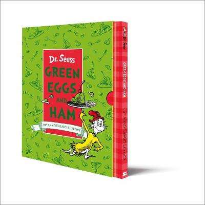Cover of Green Eggs and Ham Slipcase Edition - Dr. Seuss - 9780008368340