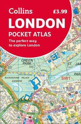 Cover of London Pocket Atlas - Collins Maps - 9780008370022