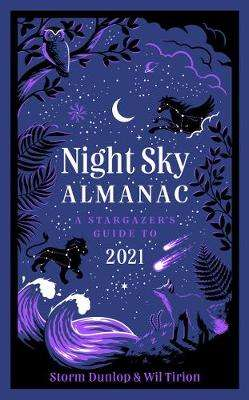 Cover of Night Sky Almanac 2021: A stargazer's guide - Royal Observatory Greenwich - 9780008403607