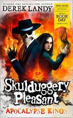 Cover of Apocalypse Kings (Skulduggery Pleasant) - World Book Day - Derek Landy - 9780008447427