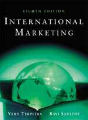 Cover of INTERNATIONAL MARKETING - Vern Terpstra - 9780030211126