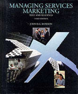 Cover of MANAGING SERVICES MARKETING 3E - John Bateson - 9780030986666