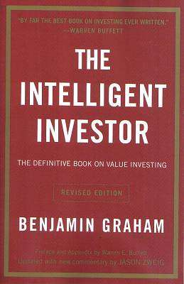Cover of The Intelligent Investor - Benjamin Graham - 9780060555665