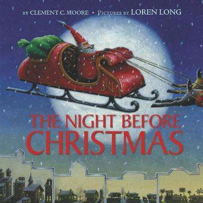 Cover of The Night Before Christmas - Clement C Moore - 9780062869463