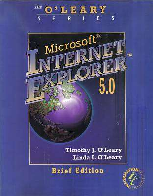 Cover of MICROSOFT INTERNET EXPLORER 5.0 - O'leary - 9780071180597