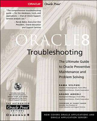 Cover of ORACLE 8 TROUBLESHOOTING - Rama Velpuri - 9780078825804