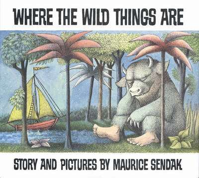Cover of Where the Wild Things Are - Maurice Sendak - 9780099408390
