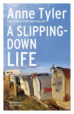 Cover of A Slipping Down Life - Anne Tyler - 9780099517504