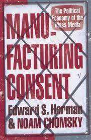 Cover of MANUFACTURING CONSENT - Herman, Edward S. & Chomsky, Noam - 9780099533115