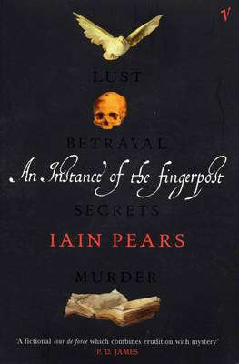 Cover of An Instance of the Fingerpost - Iain Pears - 9780099751816
