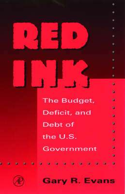 Cover of RED INK - Gary R. Evans - 9780122440809