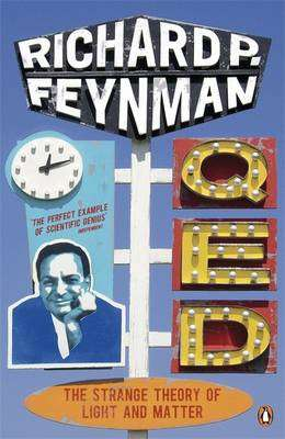 Cover of Qed: The Strange Theory of Light and Matter - Richard P. Feynman - 9780140125054