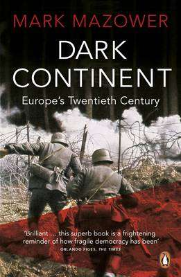 Cover of DARK CONTINENT - Mark Mazower - 9780140241594