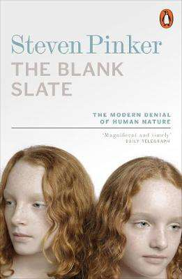 Cover of The Blank Slate - Steve Pinker - 9780140276053