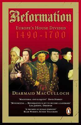 Cover of THE REFORMATION - Diarmaid Macculloch - 9780140285345