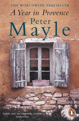 Cover of A Year in Provence - Peter Mayle - 9780140296037