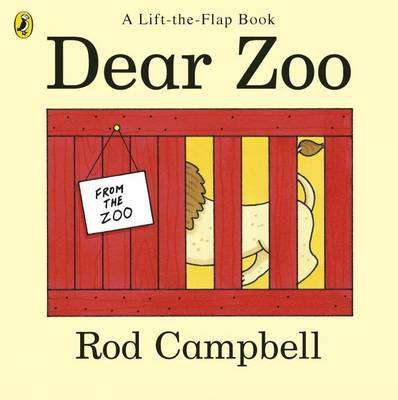 Cover of Dear Zoo - Rod Campbell - 9780140504460