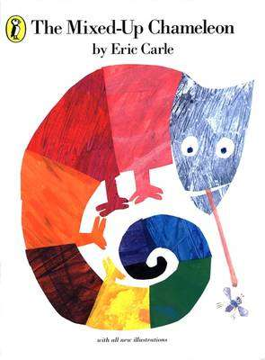 Cover of Mixed-Up Chameleon - Eric Carle - 9780140506426