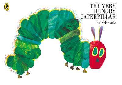 Cover of The Very Hungry Caterpillar - Eric Carle - 9780140569322