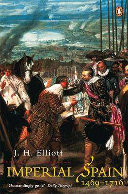Cover of Imperial Spain 1469-1714 - Elliott J.H. - 9780141007038