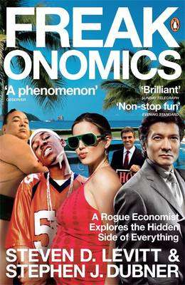 Cover of Freakonomics - Steven Levitt - 9780141019017