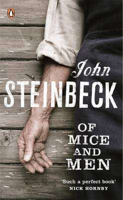 Cover of Of Mice and Men - John Steinbeck - 9780141023571