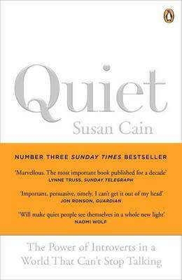 Cover of Quiet: The Power of Introverts in a World That Can't Stop Talking - Susan Cain - 9780141029191
