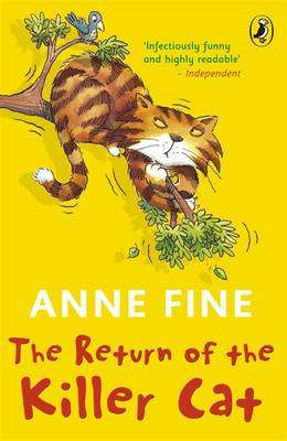 Cover of RETURN OF THE KILLER CAT - Anne Fine - 9780141317199