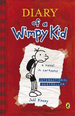 Cover of Diary of a Wimpy Kid 1 - Jeff Kinney - 9780141324906