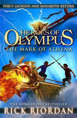 Cover of Heroes of Olympus 3: The Mark of Athena - Rick Riordan - 9780141335766