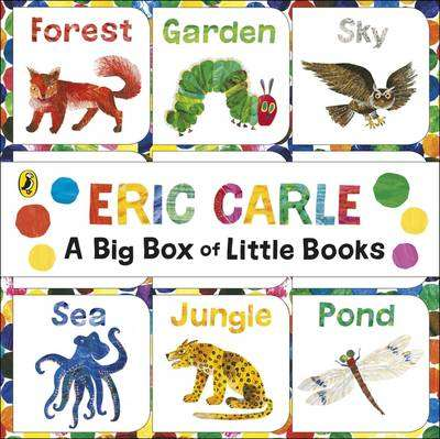 Cover of The World of Eric Carle: Big Box of Little Books - Eric Carle - 9780141359458