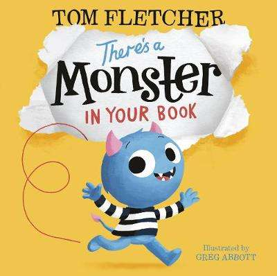 Cover of There's a Monster in Your Book - Tom Fletcher - 9780141376110