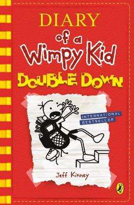 Cover of Diary of a Wimpy Kid: Double Down (Diary of a Wimpy Kid Book 11) - Jeff Kinney - 9780141376660