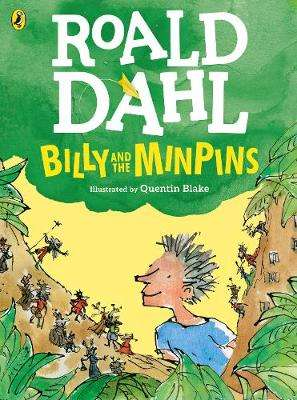 Cover of Billy and the Minpins (illustrated by Quentin Blake) - Roald Dahl - 9780141377537