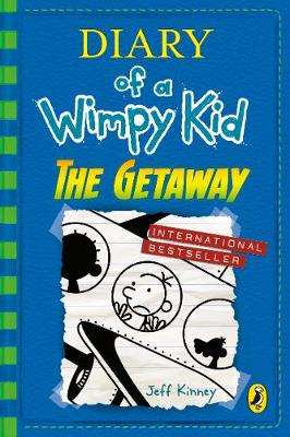 Cover of Diary of a Wimpy Kid: The Getaway (book 12) - Jeff Kinney - 9780141385259