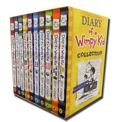 Cover of Diary of a Wimpy Kid Collection - 9780141385839
