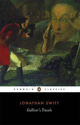 Cover of Gulliver's Travels - Penguin Edition - Jonathan Swift - 9780141439495