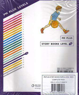 Cover of PM+ : Purple 19 : Fiction : RR Level 19 : Pack of 10 - 9780170098076