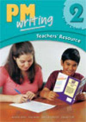 Cover of PM Writing : Level 2 : Teachers Resource Book with CD-ROM & DVD - Debbie Croft - 9780170132732