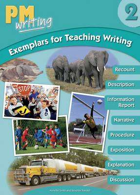 Cover of PM Writing : Level 2 Exemplars for Teaching Writing with CD-ROM - 9780170160025