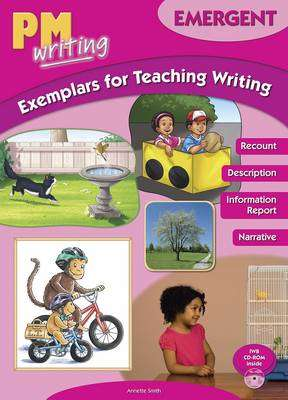 Cover of PM Writing : Emergent Exemplars for Teaching Writing with CD-ROM - 9780170184205