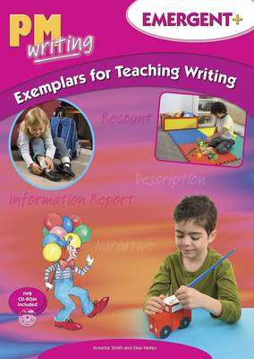 Cover of PM Writing : Emergent Examplars for Teaching Writing Plus with CD-ROM - 9780170187794